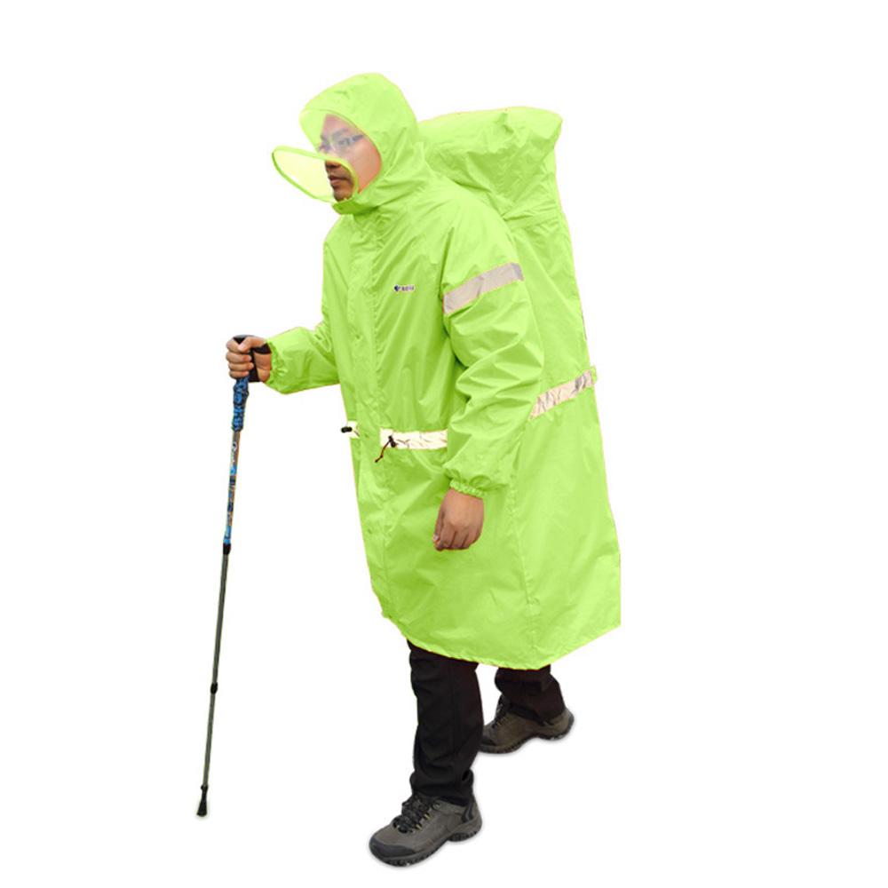 2016 новый BlueField рюкзак обложка - цельный плащ пончо дождь кабо открытый туризм отдых мужская от дождя