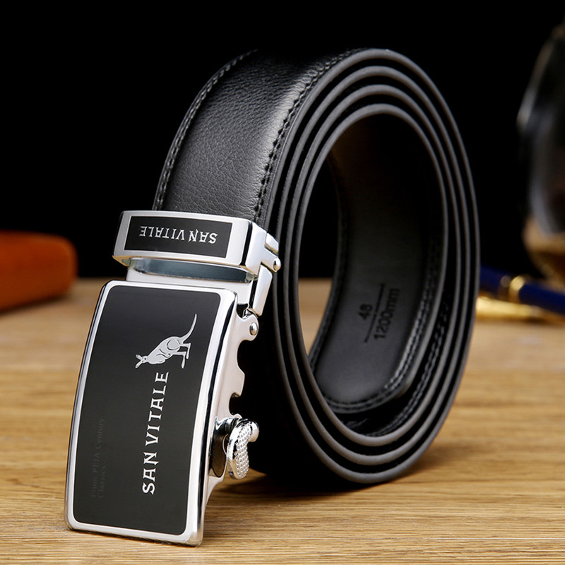 2016 new Brand fashion men's belts for men real leather Belt male luxury designer belts for clothing high quality free shipping(China (Mainland))