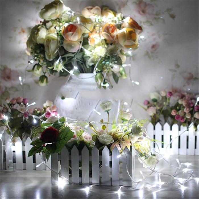 10M String Light Fariy Lighting Christmas/Wedding/Party Decoration Lights Lighting AC 110V 220V 9 Colors(China (Mainland))