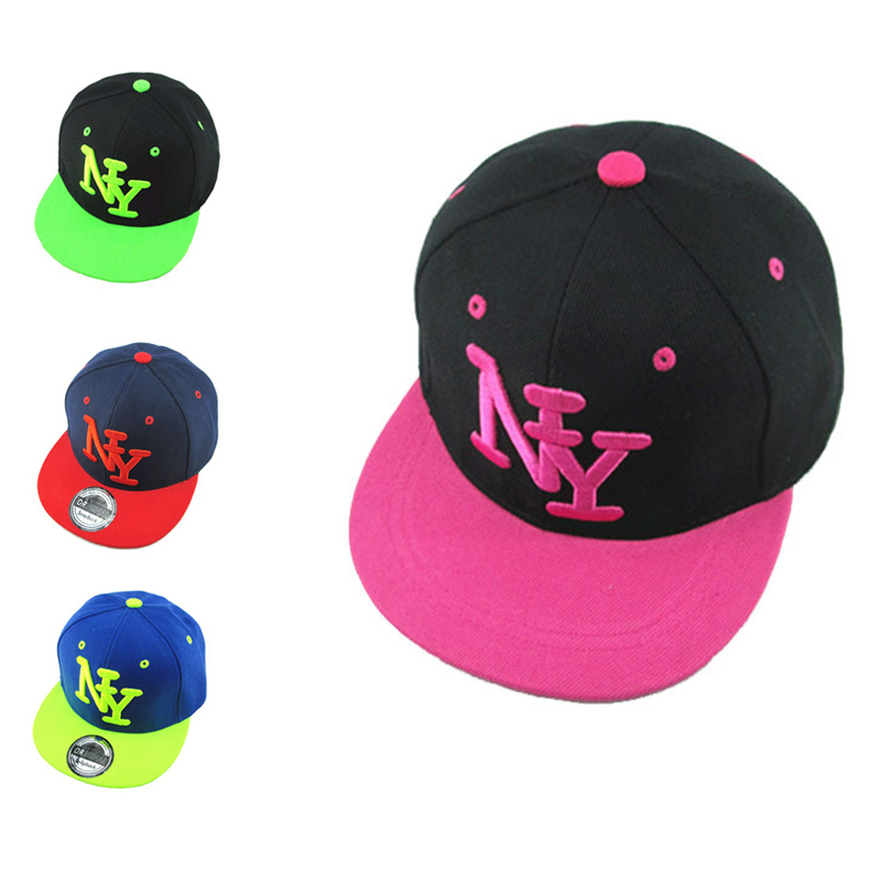 2016 Fashion Baseball Cap Cayler Sons Children Letter NY Bones Snapback Hip Hop Flat Hat Casquette for Boy and Girl(China (Mainland))