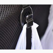 2 pcs Solid Car Back Seat Headrest Hanger Holder Hooks For Bag Purse Cloth Grocer(China (Mainland))