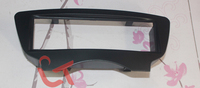 Free shipping--car refitting dvd frame dvd panel audio fascia for 08-12 BYD F0,F1, 1DIN ( Black )