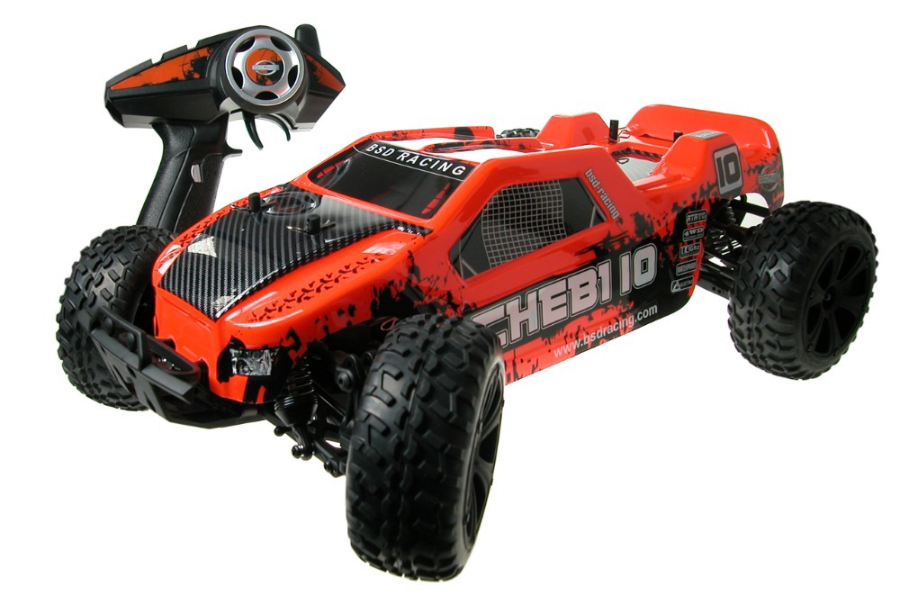 2015 New Version BSD BS214R 2.4GHz 2CH 1/10 Brushless RC Truck RTR