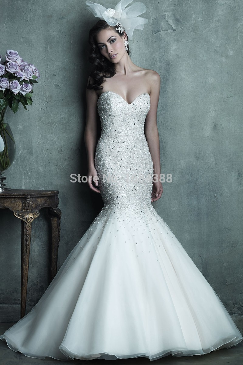 bridal gowns with crystals