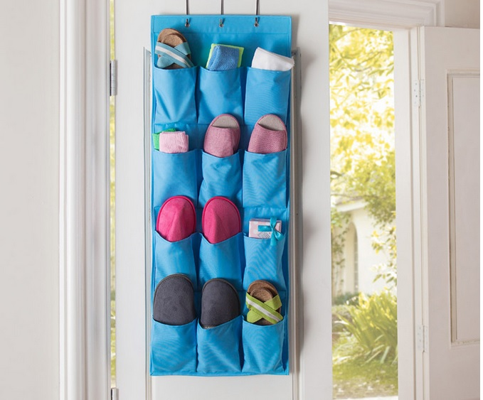 Wall multilayer Storage hanging Bag shoe household daily necessities Storage Bags(China (Mainland))