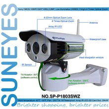 Buy SunEyes SP-P1803SWZ 1080P PTZ IP Camera Outdoor Wireless Full HD Pan/Tilt/Zoom 6-22mm Optical Zoom Micro SD Slot ONVIF for $119.60 in AliExpress store
