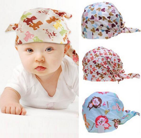 Мода детские шапки шапки младенческой пират крышка хлопок прекрасные упругие skullies ...