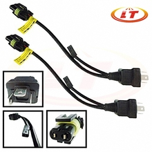 1 pcs Relay Harness For H4 9003 Hi/Lo Bi-Xenon HID Conversion Kit Xenon Bulbs Wiring Controllers Free Shipping Wholesale(China (Mainland))
