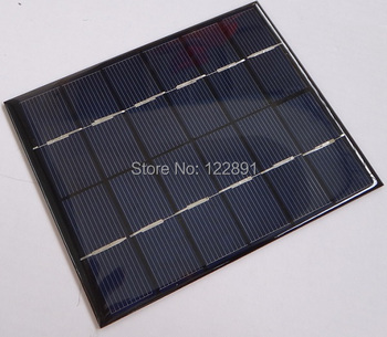HOT Sale! Mini Solar Module Solar Cell 2Watt 6V Small  Polycrystalline Solar Panel For Battery Charger DIY Charger Free Shipping