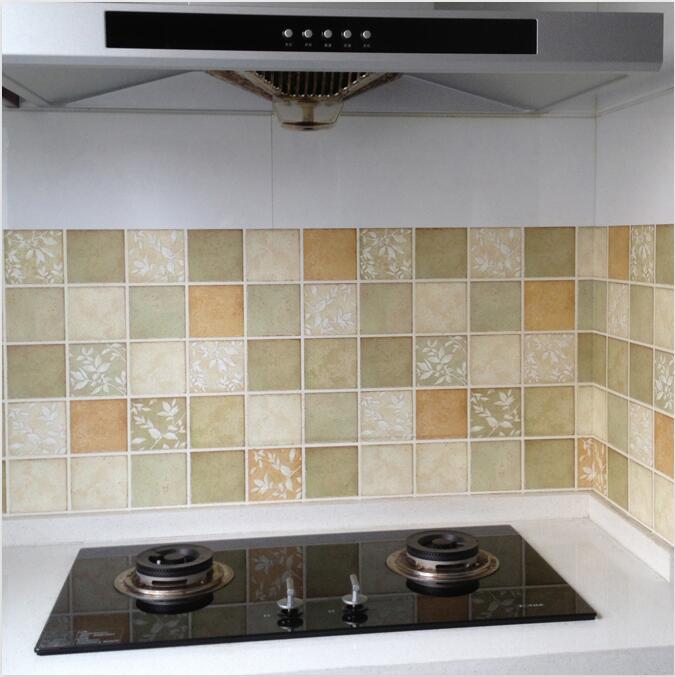 Motifs cuisine carreaux de mur promotion achetez des - Carreaux autocollants cuisine ...