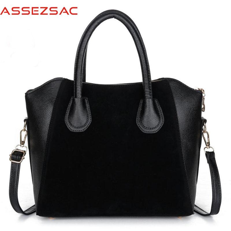 Assez sac! free shipping handbags women spring nubuck leather bags women messenger bags high quality women handbags LS6514as(China (Mainland))