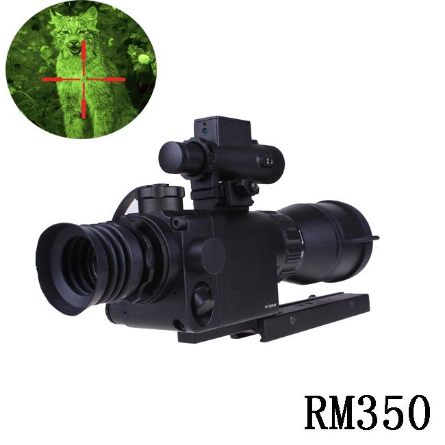 red dot Generation1 day and night sight Mk350 Huntting Night vision riflescope military night vision gunsight DH058(China (Mainland))