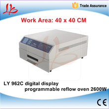 Buy LY 962C 2600W Digital display programmable reflow welding machine / programmable reflow oven 220V for $653.60 in AliExpress store
