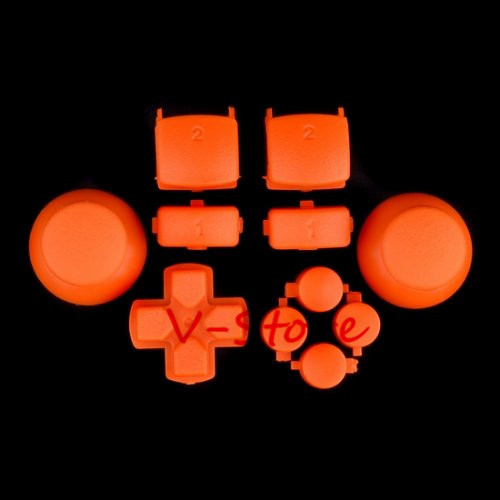 3 sets Full Repair Part For Sony Playstaion 3 Controller Triggers Buttons + DPad ( orange )(China (Mainland))