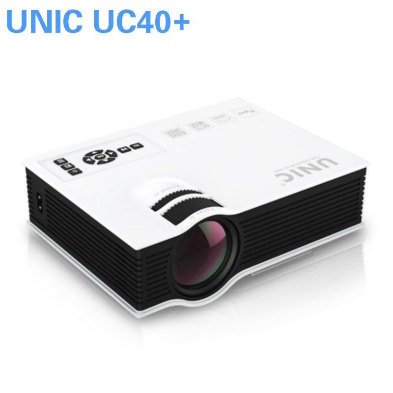 2016 new upgraded unic uc40 plus simplified micro for Micro projector 1080p