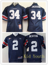 New Auburn Tigers 2 Cam Newton 34 Bo Jackson College Embroidery for youth,camouflage(China (Mainland))