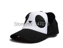 Time-limited Free shipping Geometric Adult Free Swag Casual Snapback Caps Summer Stereo Panda Hat Cap Child Cartoon Baseball(China (Mainland))