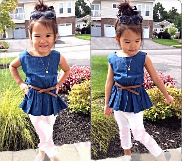 Модная одежда для девочек девочки