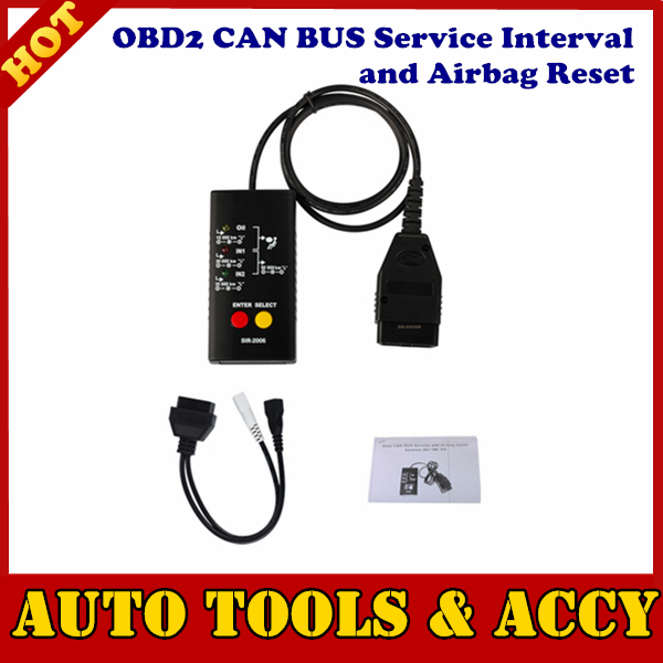2015 professional New OBD2 CAN BUS Service and Airbag Reset free shipping(China (Mainland))