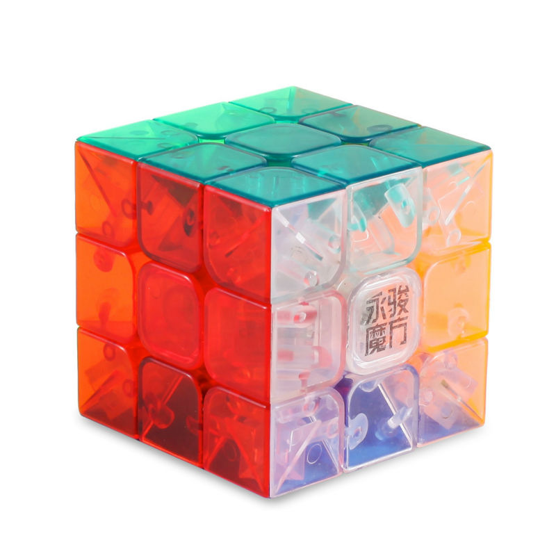 Yongjun YJ MoYu AoLong 56mm Magic Puzzle Cube Top Speed Crazy Windmill Weilong Puzzle Pyraminx Cubes Educational Toys(China (Mainland))