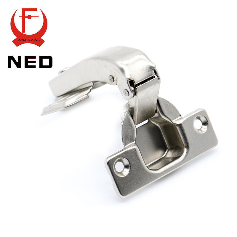 Brand NED 90 Degree Corner Fold Cabinet Door Hinges 90 Angle Hinge Hardware For Home Kitchen Bathroom Cupboard With Screws(China (Mainland))