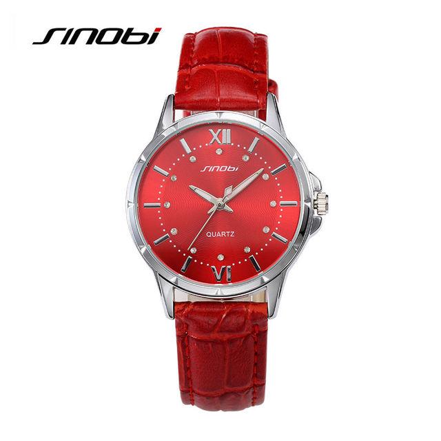 Zegarek damski SINOBI casualowy ciekawy różne kolory