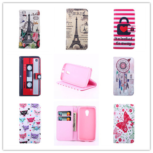 Retro Fashion Delux Flip Wallet Case Motorola New Bike Moto G 2 2nd Gen XT1063 XT1069 XT1068 Cover Card Slot - APbest Electronic Store store