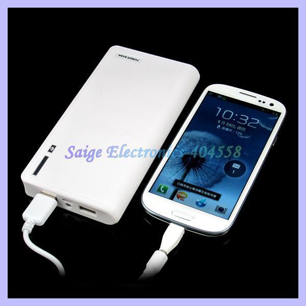 Здесь можно купить  2 Usb Port wallet style 20000mAh Power Bank portable Battery for iphone 5 ipad samsung  Телефоны и Телекоммуникации