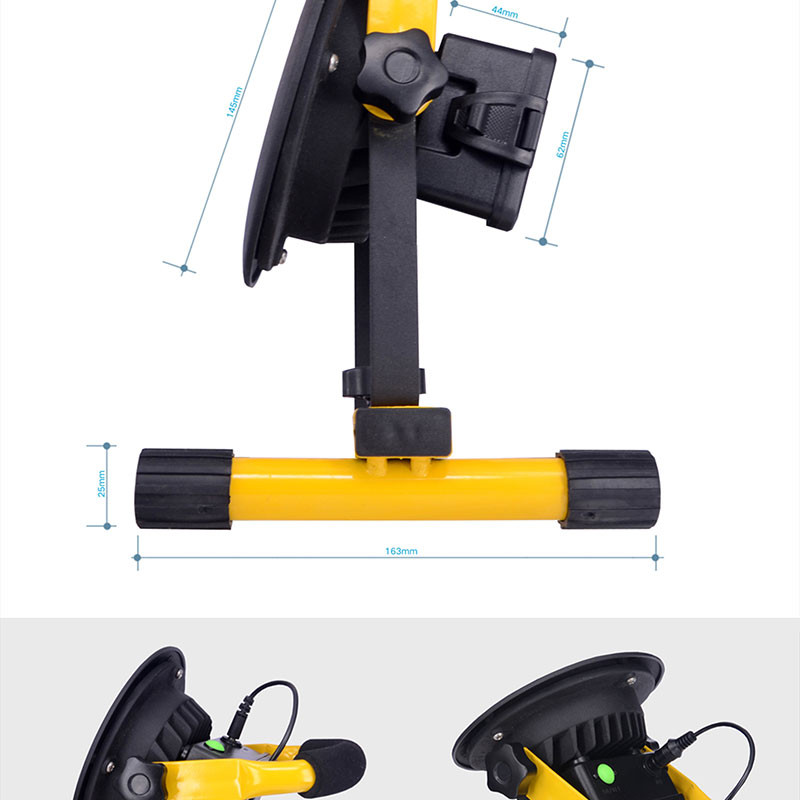 2015 New 30W Portable Rechargeable LED Flood light Spot Work Light 3 mode Power Bank Function 5V/1A by 3*18650 led Lamp