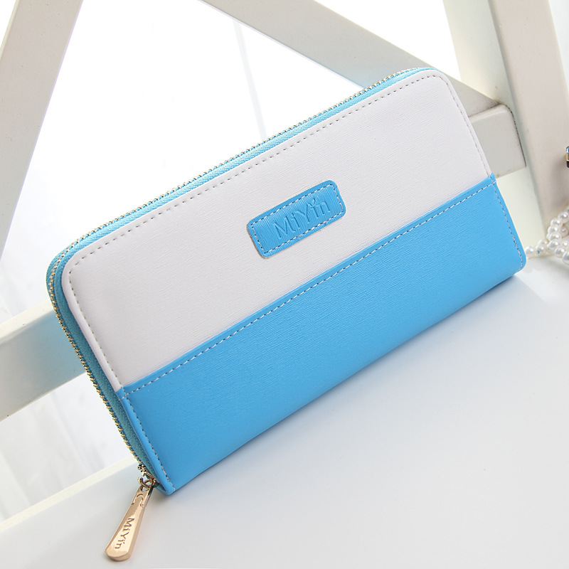 Hot Designer Wallets Famous Brand Women Clutch Wallet High Quality Fashion  PU Soft Leather  Long patchwork Handbag Cards Purse<br><br>Aliexpress