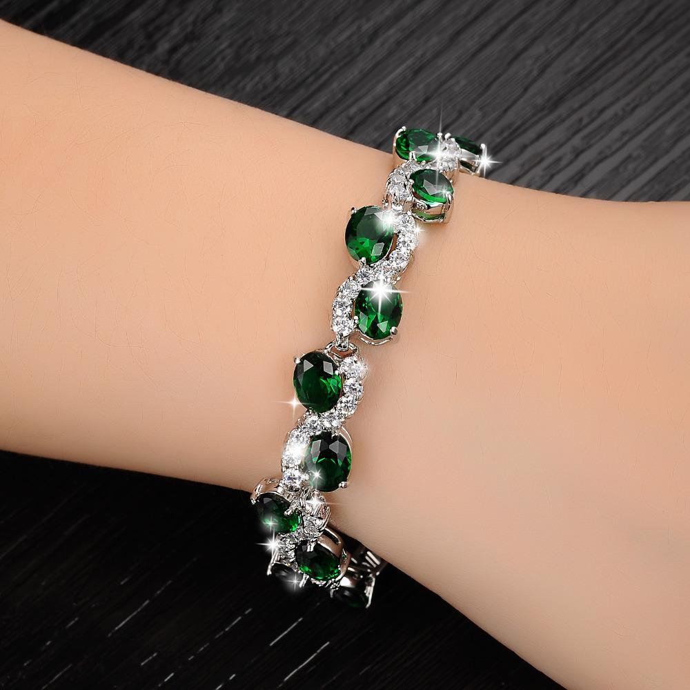Gold bracelets for girls in hands