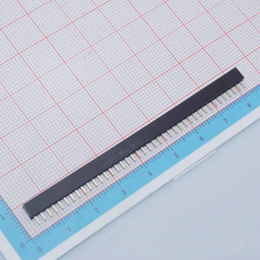 40043 Free Shipping Female Pin Header Strip 10pcs 40 Pin 2mm Single Row Female Pin Header