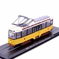 Collectible Atlas Tram 1/87 Scale Diecast Mannequin Tram A2.2 Rathgeber 1901 Practice Bus Children Toys Present With Field