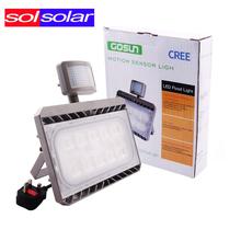 Cree LED PIR Floodlight Motion Sensor Flood Light 30W 50W AC 100-240V Outdoor Lighting Waterproof IP65 Spotlight Lamp(China (Mainland))