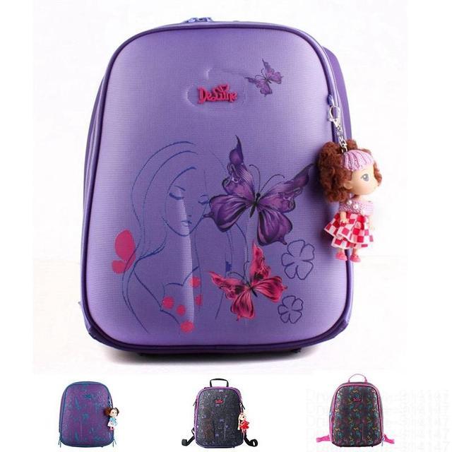 Ортопедические водонепроницаемые детские школьные сумки для девочек начальной школы ...