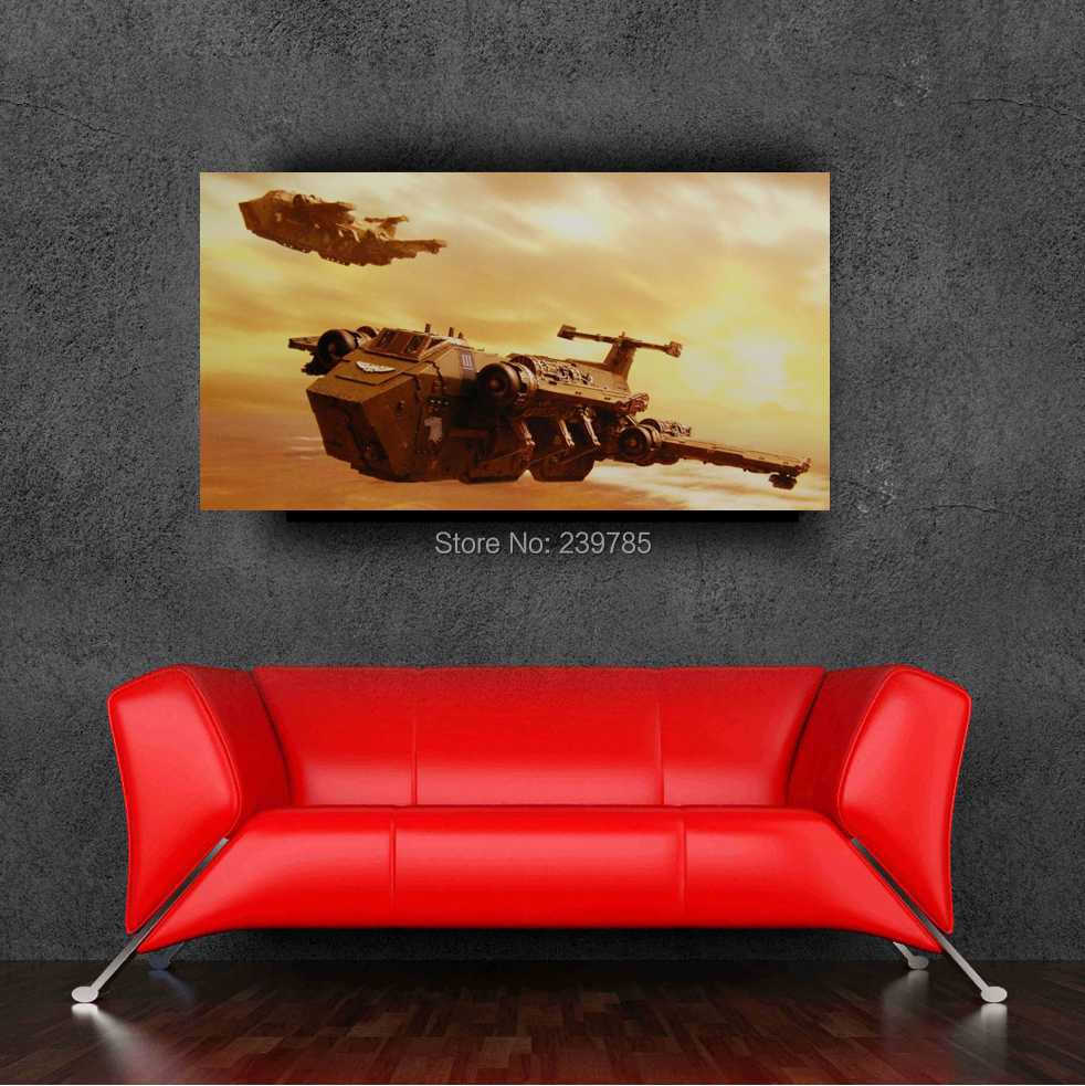 Warhammer 40k original game posters 24x36inch 60x90cm for Decor 40k