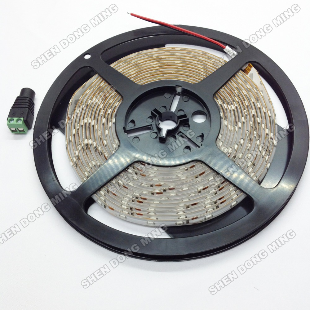 Free Shipping 10m/lot 5M/Roll 300 LEDs 60 LEDs/M Flexible Waterproof RGB LED Strip Light 5050 SMD(China (Mainland))