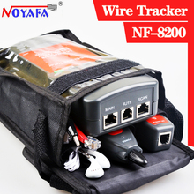Original NOYAFA NF-8200 LCD LAN Tester  RJ45 Cable Tester Ethernet Cable Tracker  Network Cable Tester STP/UTP 5E 6E CABLE(China (Mainland))