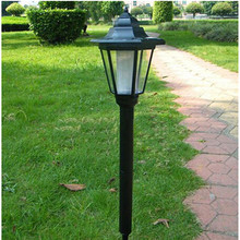 Hot Sale High Quality Outdoor LED Solar Lawn Lamp Hexagon Lamp Outdoor Light Landscape Garden Lamp Solar Powered Hex light(China (Mainland))