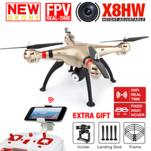 Buy 2016 NEW SYMA X8HW Hover FPV Real-time RC Quadcopter Drone 2MP WIFI Camera 2.4G 6Axis Dron RTF RC Helicopter VS X101 X102H for $118.80 in AliExpress store