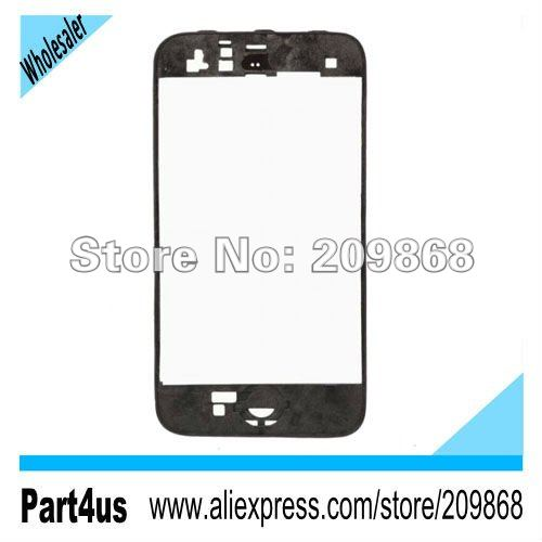 LCD Frame Holder Chassis Cover for iPhone 3G- Black(China (Mainland))