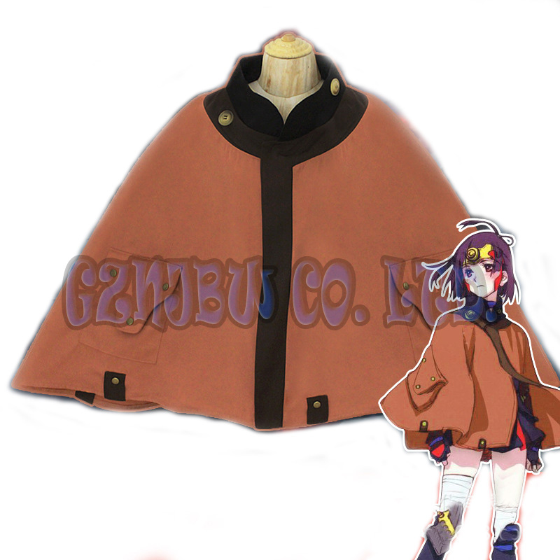 Anime Kabaneri of the Iron Fortress Koutetsujou Mumei chiffon cloak daily cape kimono Cosplay Costume Halloween for women