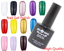 1pcs Top Quality UV Nail Gel Polish Varnish  10ML 122 colour choose Soak Off for Nail art Uv lamp / Led Lamp(China (Mainland))