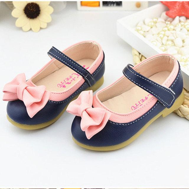 Нью-бантом детей туфли обувь для девочек принцесса мода девочек сандалии дети дизайнер ...