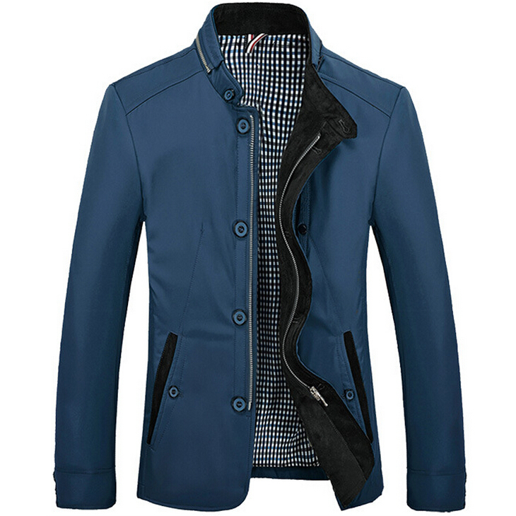 Free Shipping 2015 High Quality Mens Jackets Fashion Elegant Coat Autumn Winter Designed Slim Casual Jacket Men Plus Size M~4XLОдежда и ак�е��уары<br><br><br>Aliexpress