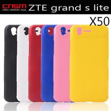 50/lot Free shipping High Quality Hard Plastic Phone Case High-end fashion and generous  For ZTE grand s lite