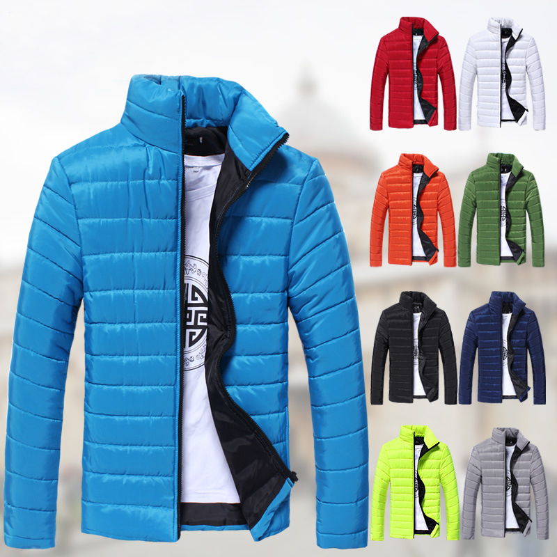 Free shipping 2015 New style casual jacket Men's fashion winter Jacket warm Cotton outdoor coat! 37(China (Mainland))