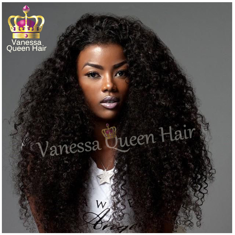 2015 New Brazilian afro curly lace hair synthetic Lace ...