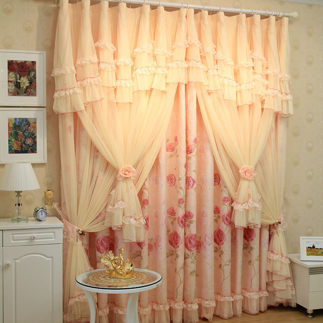 Buy Luxury Roman Blinds The Tulle Korean String The Curtain Shalian Lace