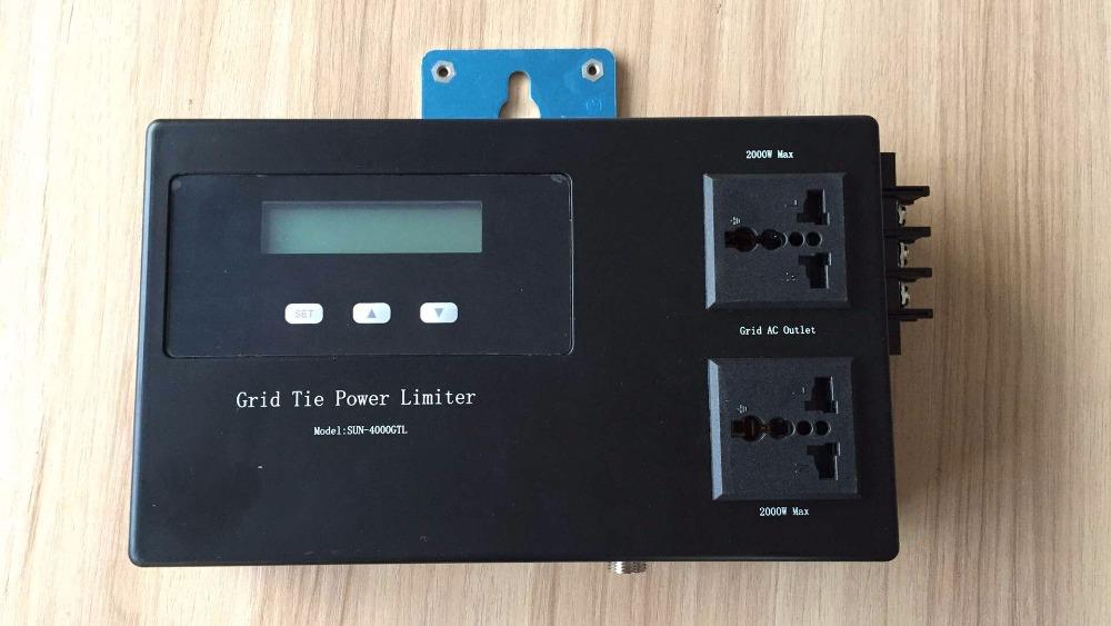 120V/230V AC Solar grid tie power limiter for SUN series grid tie inverter 500/600/1000/1500/2000W(China (Mainland))